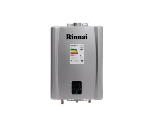 Aquecedor de Água à Gás RINNAI REUE17 TOP PRATA 17 Litros/min -ENTRE EM CONTATO P/ OFERTAS ESPECIAIS