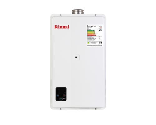 Aquecedor de Água à Gás RINNAI REUE 33 FEH - 32,5 Litros/min. - ENTRE EM CONTATO P/OFERTAS ESPECIAIS